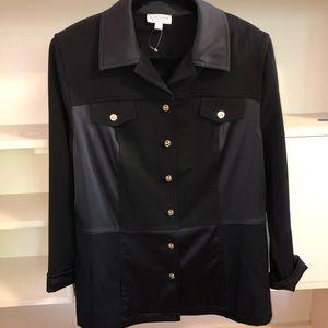 St. John Sport Black Blazer